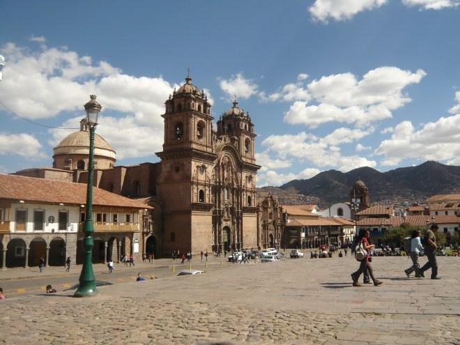 La Compañia de Cusco qui rivalise avec la cathédrale