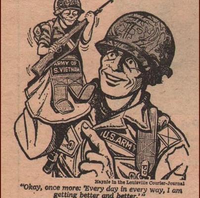 vietnamisation, puppet army