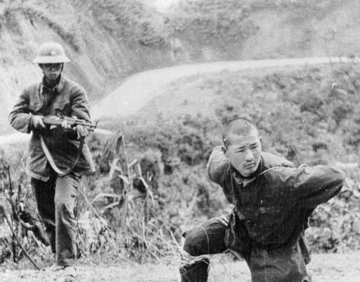 Chinese captured by Vietnamese Feb 23 1979