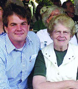 Carol Stockman with grandson Sam