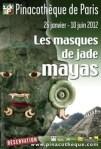 Les masques de jade mayas, Pinacothèque de Paris
