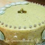 Gâteau Macarons Pistache - Chocolat de Bernard