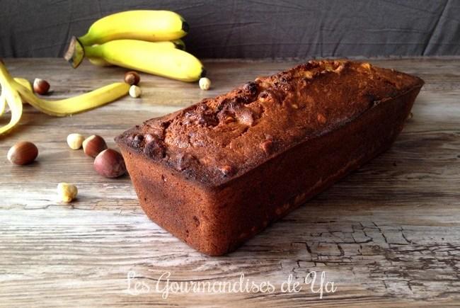 Banana bread noisette et cannelle LGY