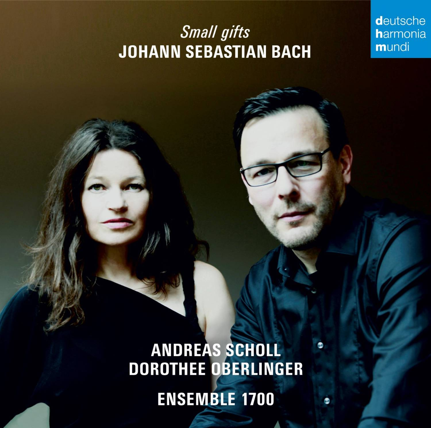 "1 Disque Deutsche Harmonia Mundi ""Small Gifts"" (Bach) Andreas Scholl, Dorothee Oberlinger - Ensemble 1700"