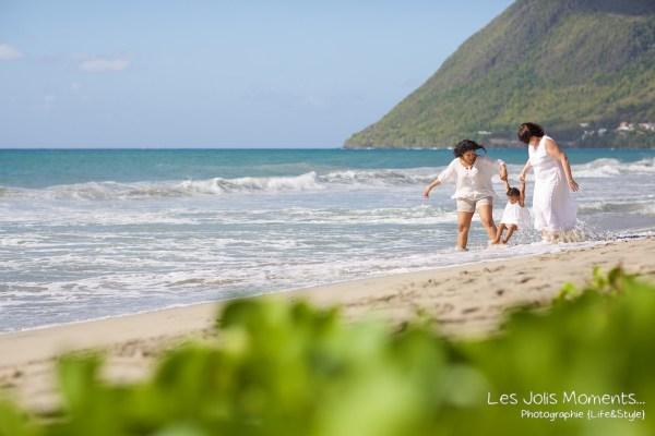 Photos grands parents petits enfants Martinique