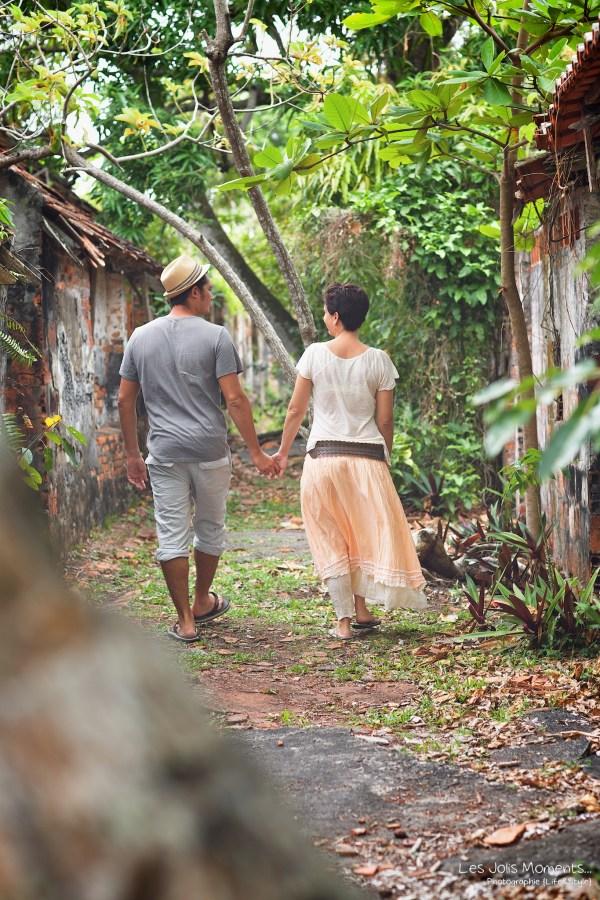 Seance portrait amis Village de la Poterie Martinique 8