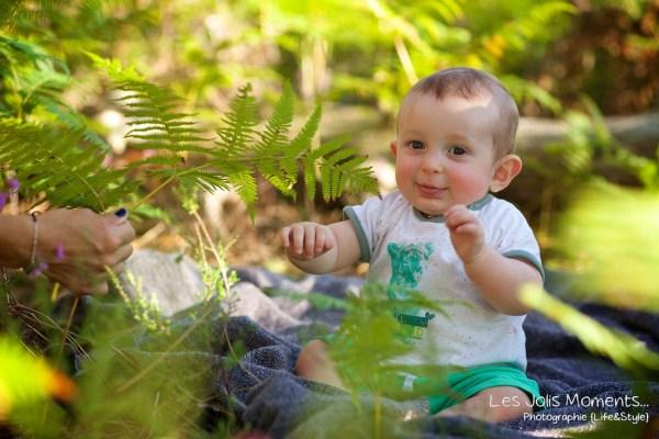 Seance en famille avec bebe dans les Landes 10