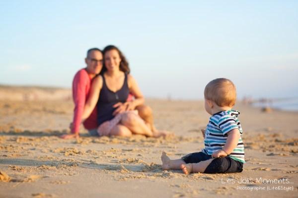 Seance en famille avec bebe dans les Landes 61