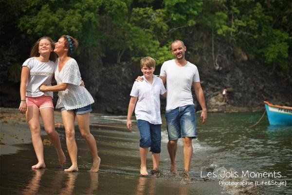 Photos de famille a Anse Noire 10