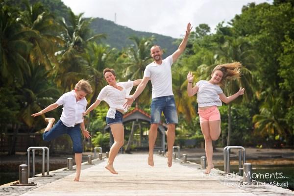 Photos de famille a Anse Noire 5