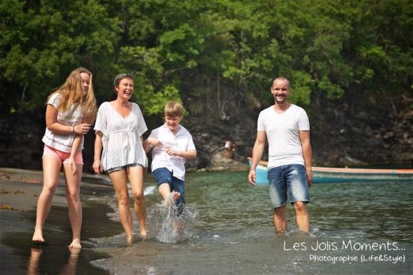 Photos de famille a Anse Noire 9