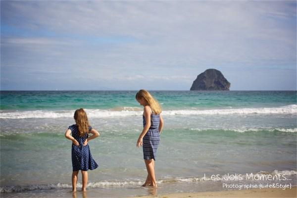 Seance famille en vacances au Diamant 3