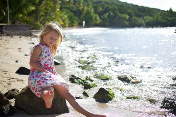 Seance a la plage a Anse Figuier Sainte Luce 3