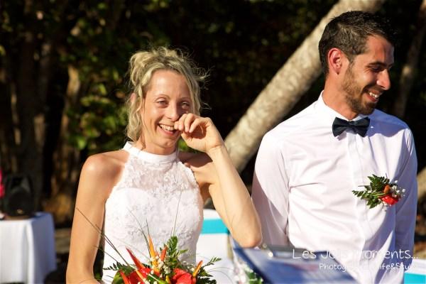 Ceremonie de mariage sur une plage de Martinique (1)