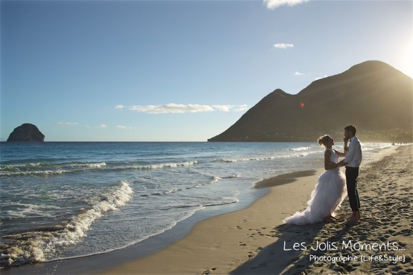 Ceremonie de mariage sur une plage de Martinique 24