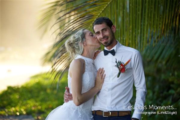 Ceremonie de mariage sur une plage de Martinique 27
