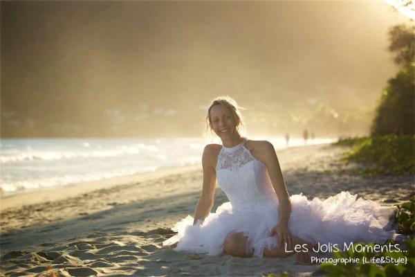 Ceremonie de mariage sur une plage de Martinique 28