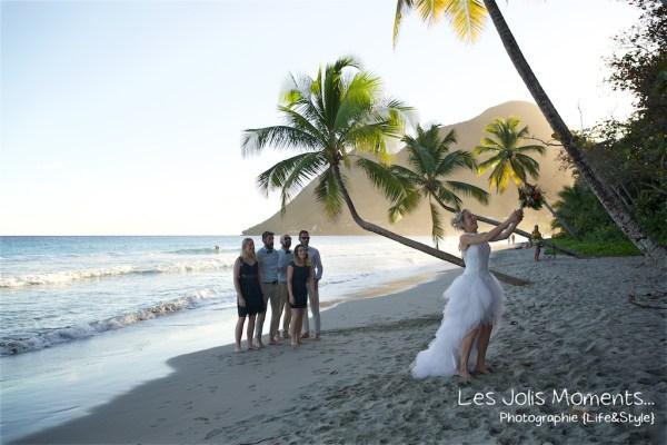 Ceremonie de mariage sur une plage de Martinique 30