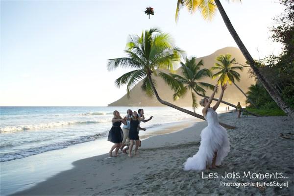 Ceremonie de mariage sur une plage de Martinique 32