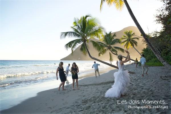 Ceremonie de mariage sur une plage de Martinique 34