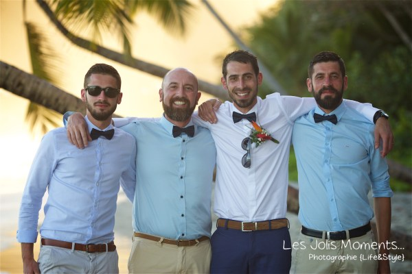 Ceremonie de mariage sur une plage de Martinique 35
