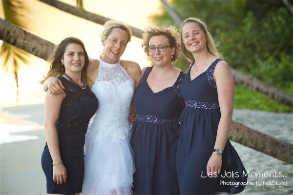 Ceremonie de mariage sur une plage de Martinique 36