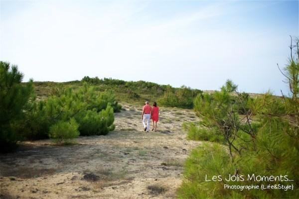 Seance photo dans les dunes des Landes 1
