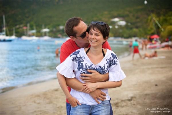 Seance grande famille sur la plage de Grande Anse 39