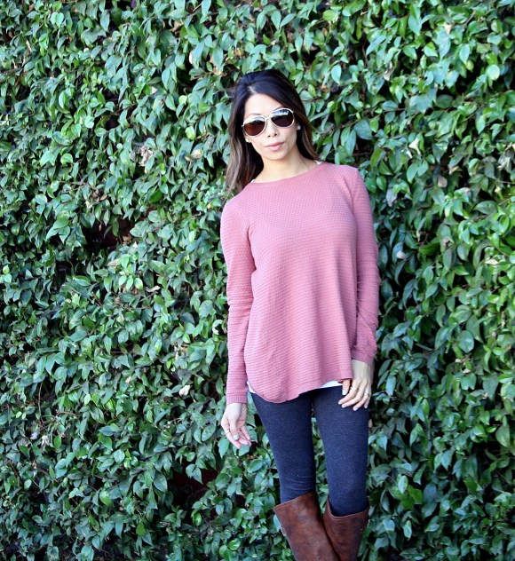 IMG 0549 580x622 Dusky Pink Sweater