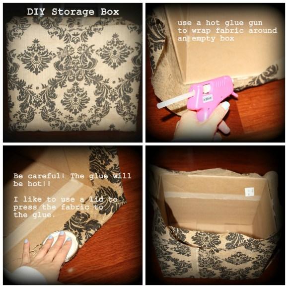 diy box 580x580 DIY Storage Container