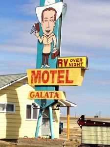 RV Motel in Galata, MT