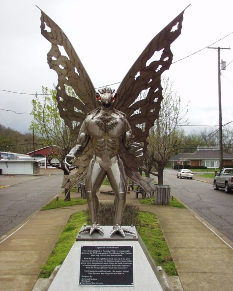 The Mothman by Robert Roach, in Point Pleasant, West Virginia