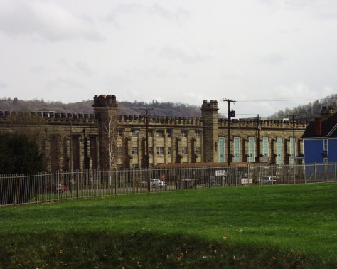 Historic West Virginia Penitentiary in Moundsville