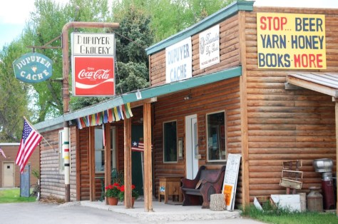 Dupuyer Cache sells yarn, honey, books, groceries and more.