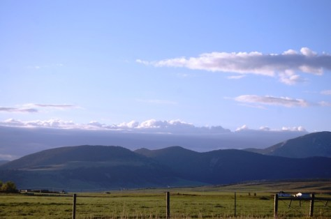 Beautiful views abound on US 89 through Montana (and Big Sky views abound too)