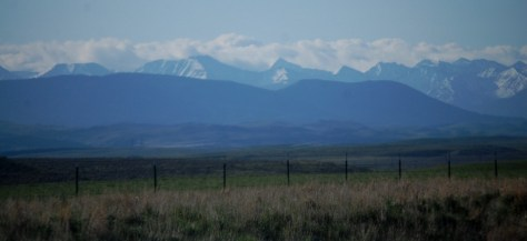 The Crazies as seen from US 89 near the Smith River Valley in Montana
