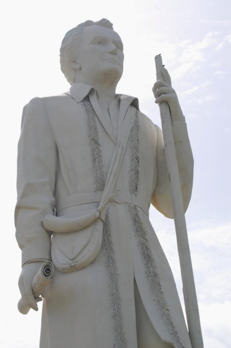 Stephen F. Austin Statue near Angleton, Texas