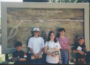 Fredericksburg, Virginia Aug 1995