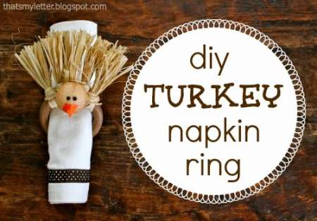 turkey napkin ring