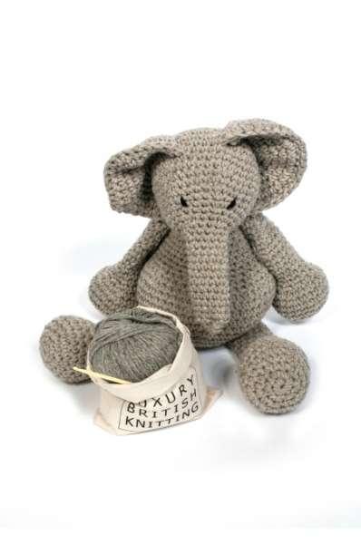Arigumi elephant crochet