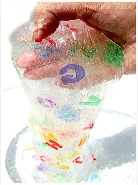 Eye Spy Alphabet Slime Recipe