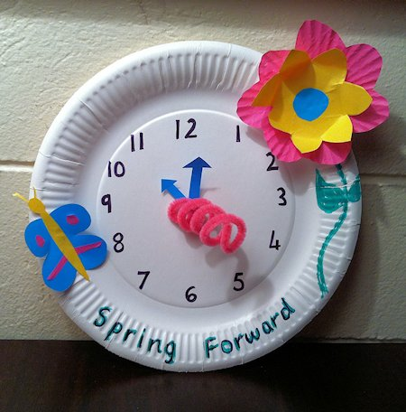 Spring Forward Craft