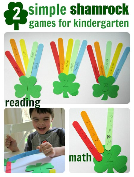 Two Simple Shamrock Games