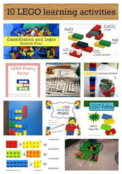 10 LEGO learning activities
