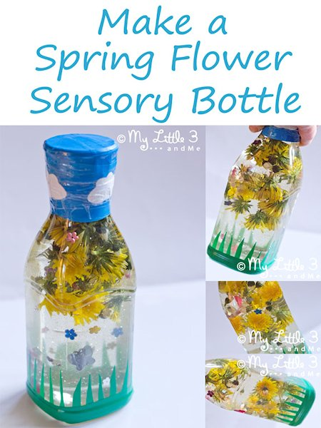 Spring Flower Sensory Bottle