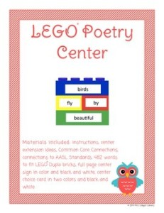 lego poetry center