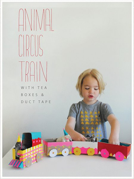 Make an Animal Circus Train