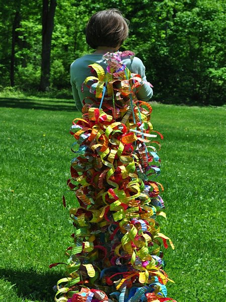 Water Bottle Sculpture