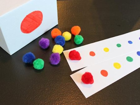 Roll and Color Game