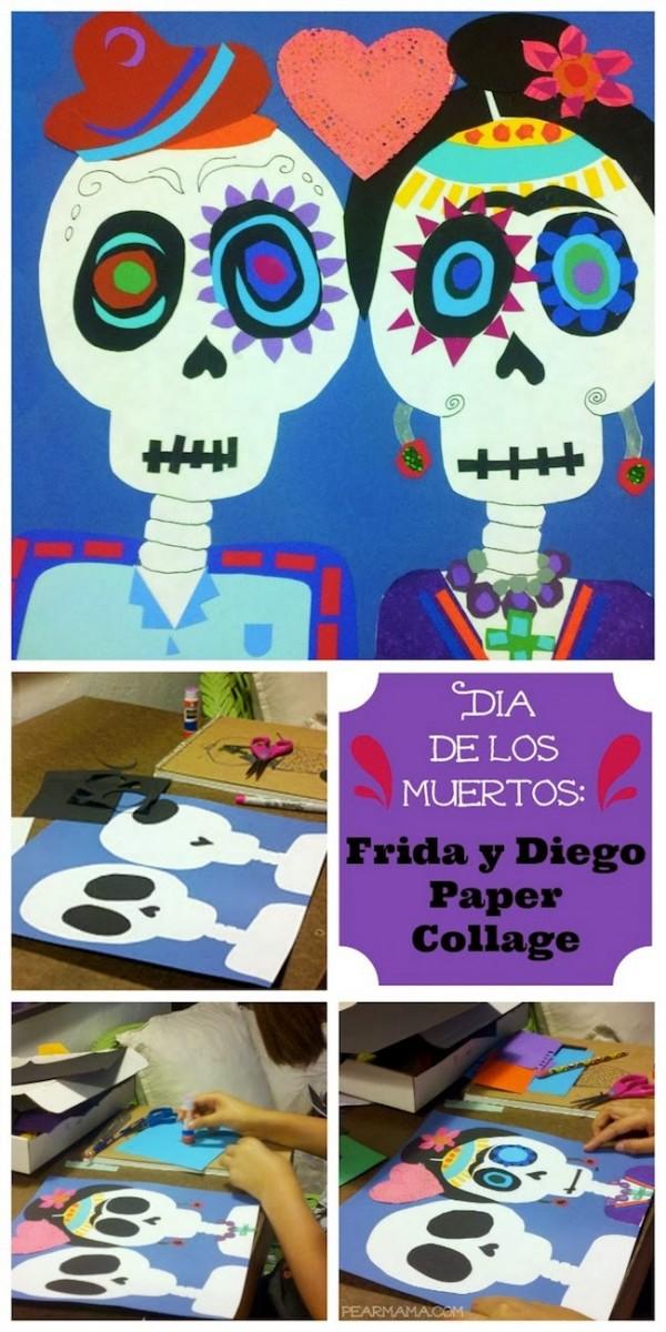 Frida-Diego-paper-collage